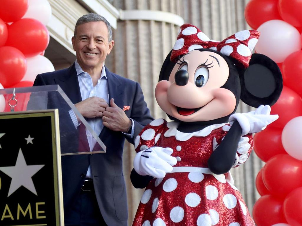 Robert Iger stepped down as Disney chief executive Disney CEO Robert Iger has called Disney+ his No. 1 priority. Picture: Andrew Gombert/EPA/Shutterstock