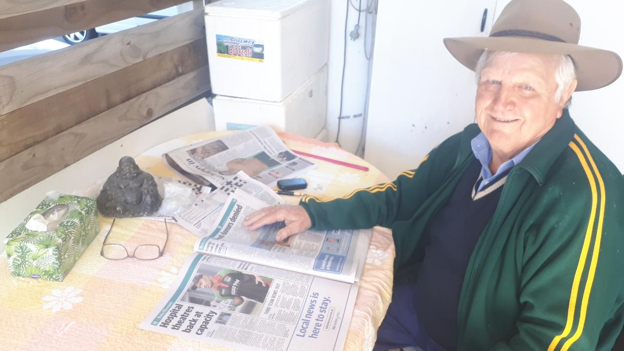 Bradley Andrews has been an avid reader of the Daily Mercury Newspaper for more than 60 years.