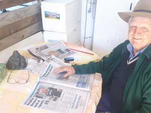 Loyal reader embraces Daily Mercury's new era