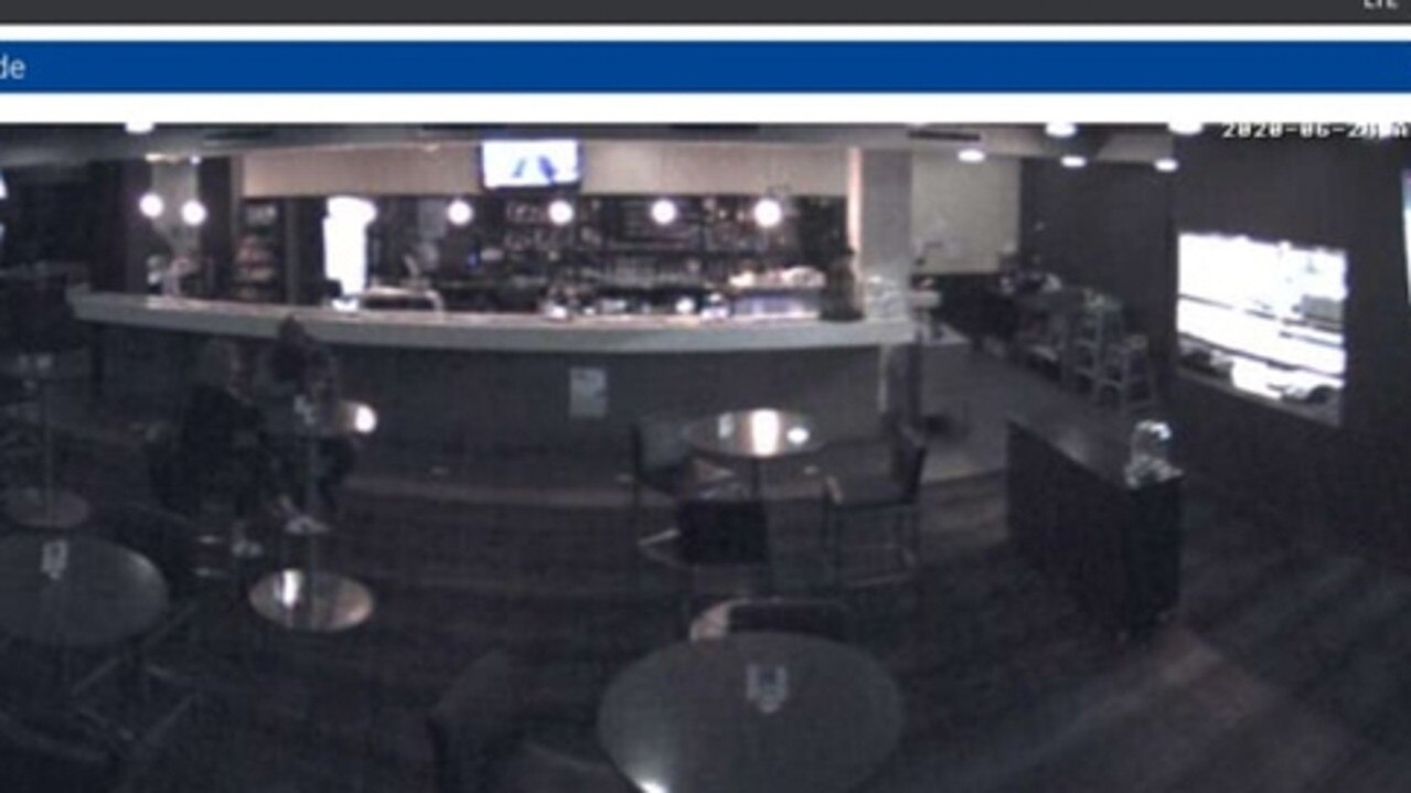 This is the camera feed, allegedly from a Yeppoon pub, which was streamed over a Russian hacking site.