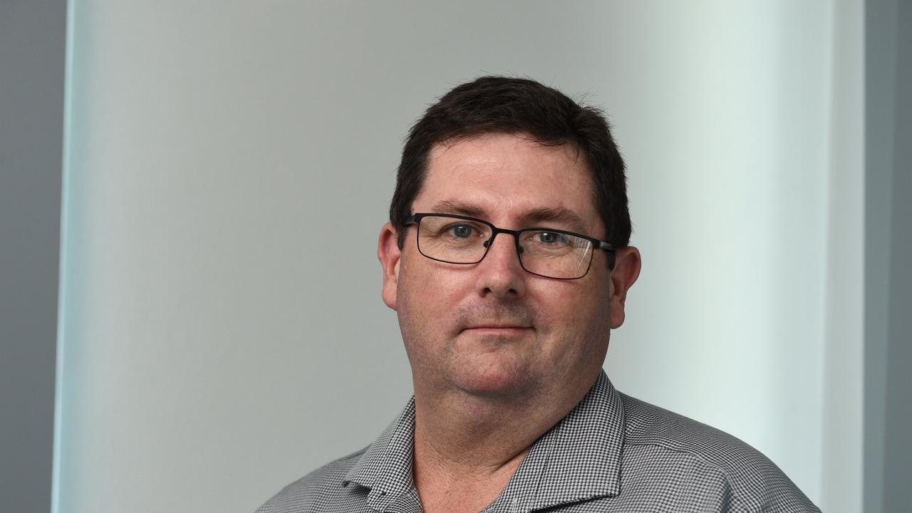 Fraser Coast Chronicle sports editor Brendan Bowers.