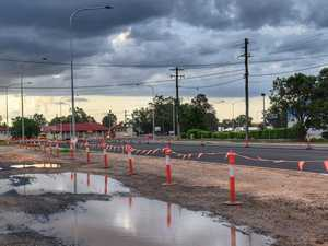 When the Chinchilla roadworks are expecting to be completed