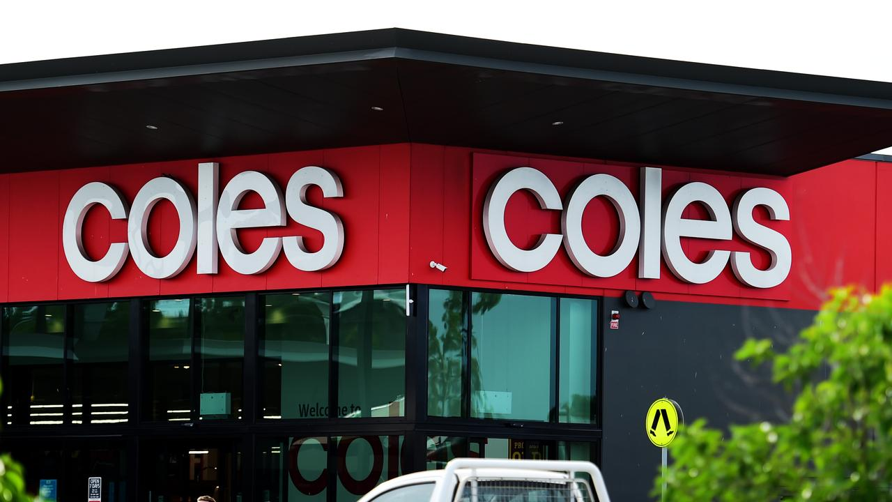 Two workers at a Coles distribution centre in Melbourne have tested positive for COVID-19 this week. Picture: Alix Sweeney