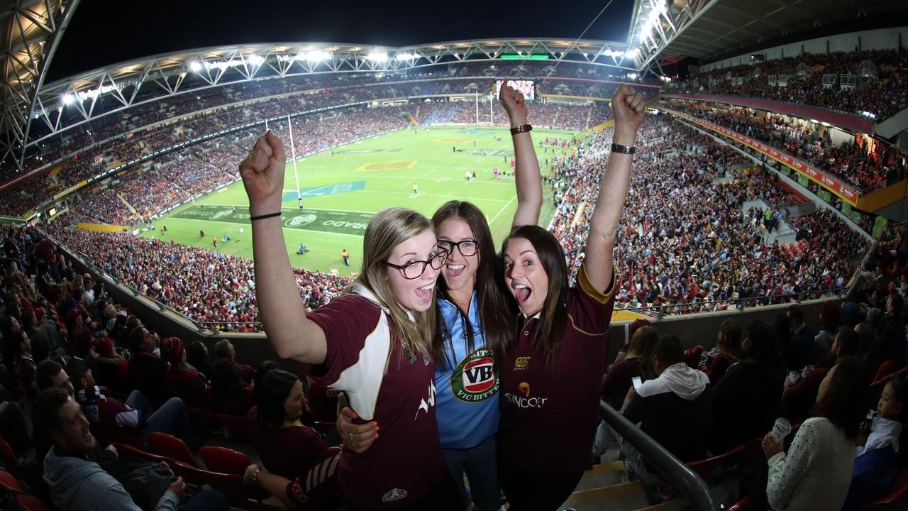 Queensland stadiums could be packed for the Olympics in 2032. Pics Annette Dew