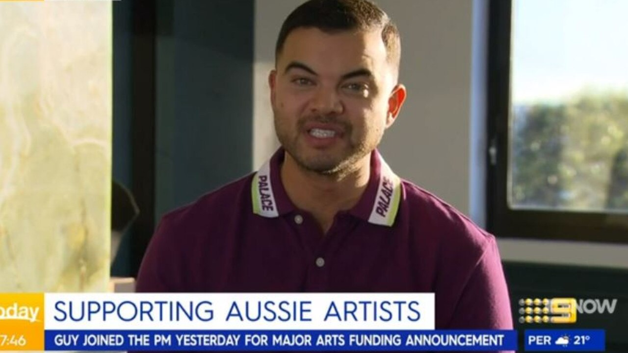 Guy Sebastian told Today he has 'no idea' why he was 'cancelled'. Picture: Channel 9