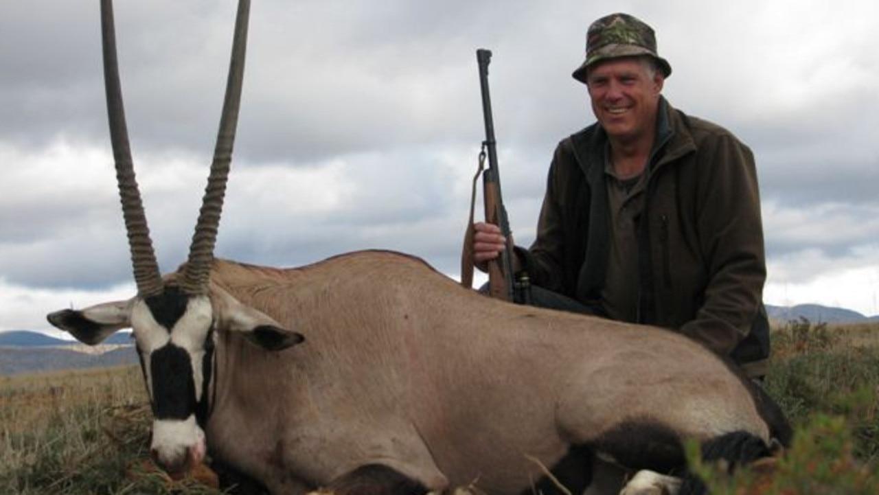Bruce Bull in Africa.