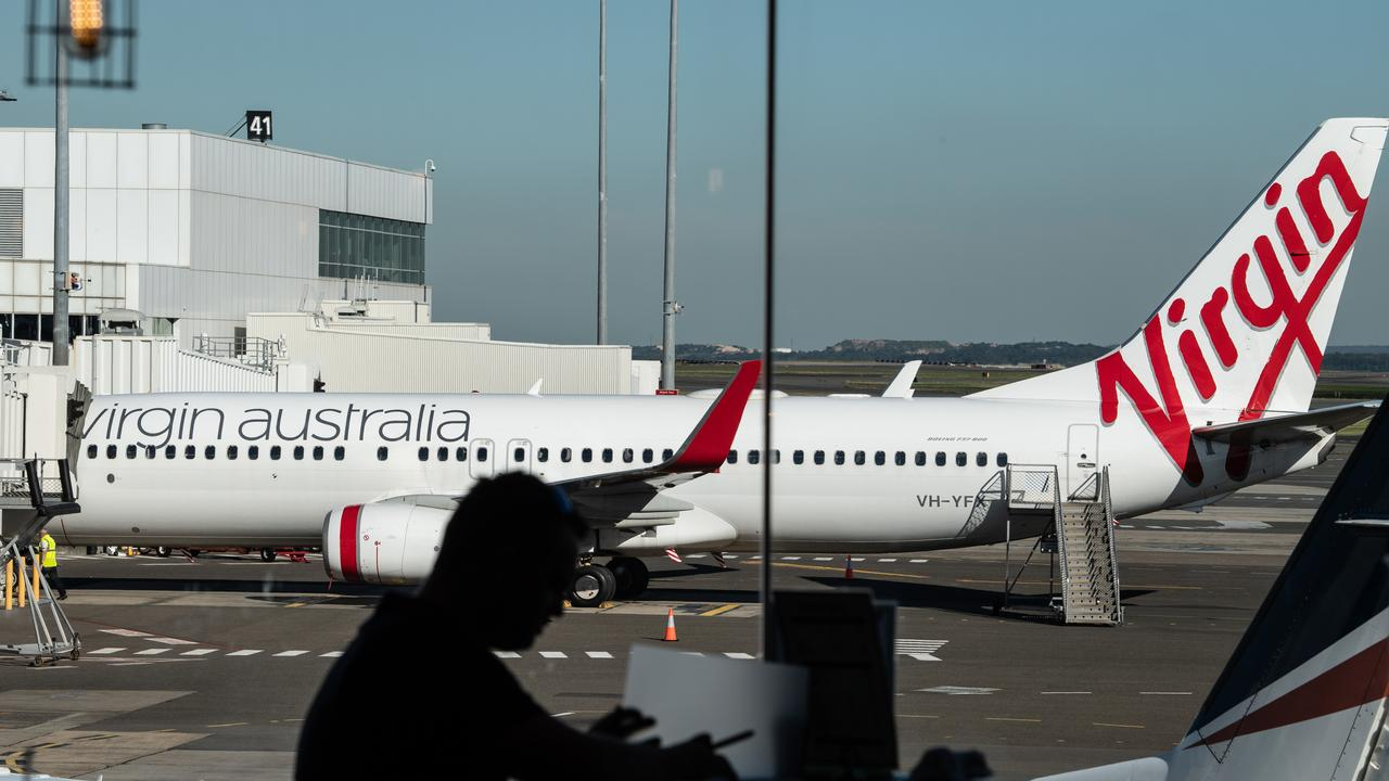 US equity firm Bain Capital has agreed to buy Virgin Australia. Picture: AAP Image/James Gourley
