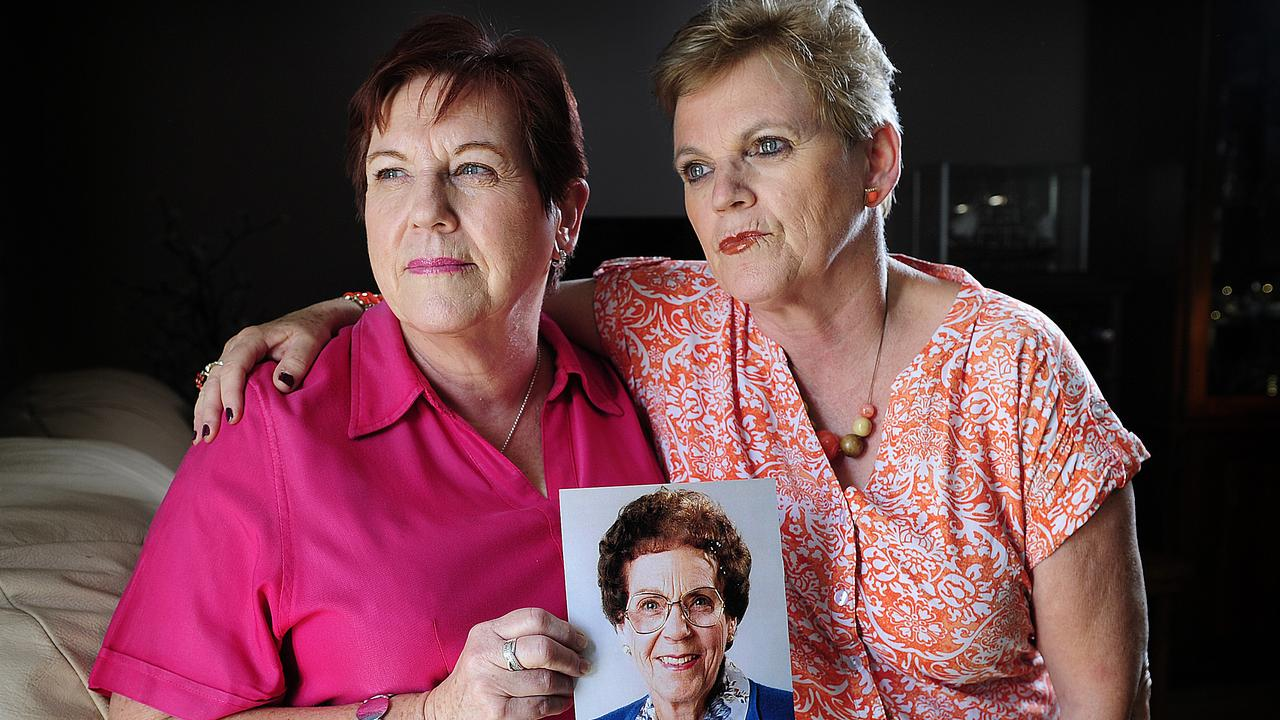 Phyllis Harrison's children disappointed they didn't get the chance to look her alleged murderer in the eyes.