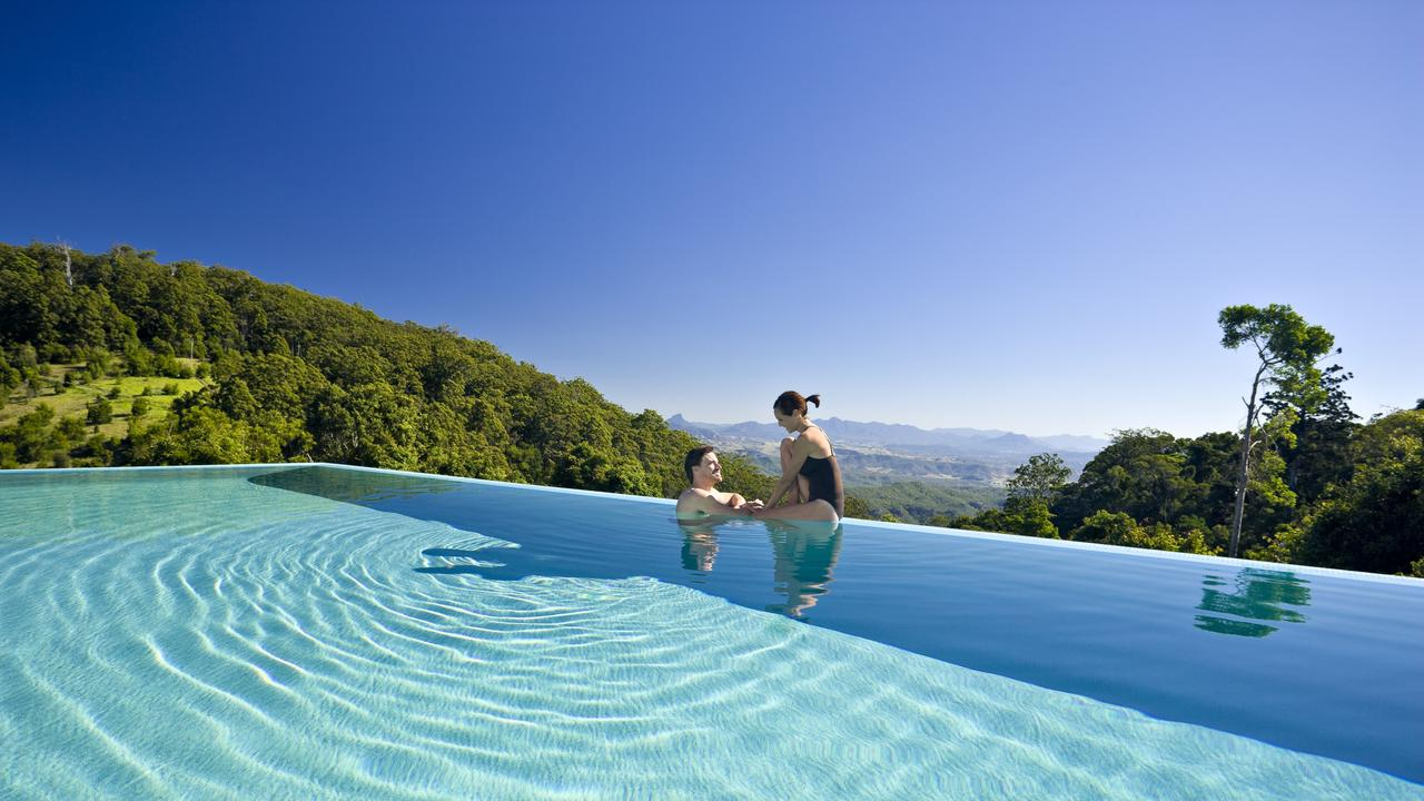 Escape to O'Reilly's Rainforest Retreat, Queensland these school holidays. Picture: Supplied