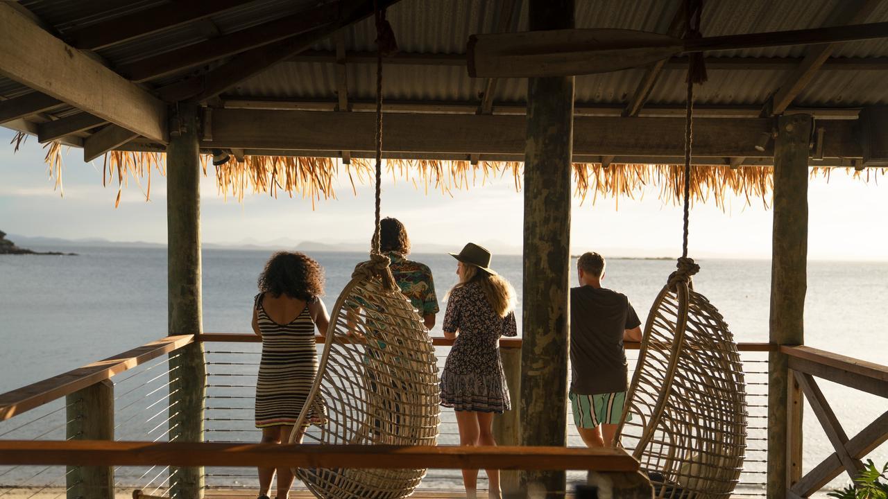 Explorez le nord tropical du Queensland pendant ces vacances scolaires. Image: TEQ. Retraite écologique de l'île aux citrouilles - Grande barrière de corail du sud