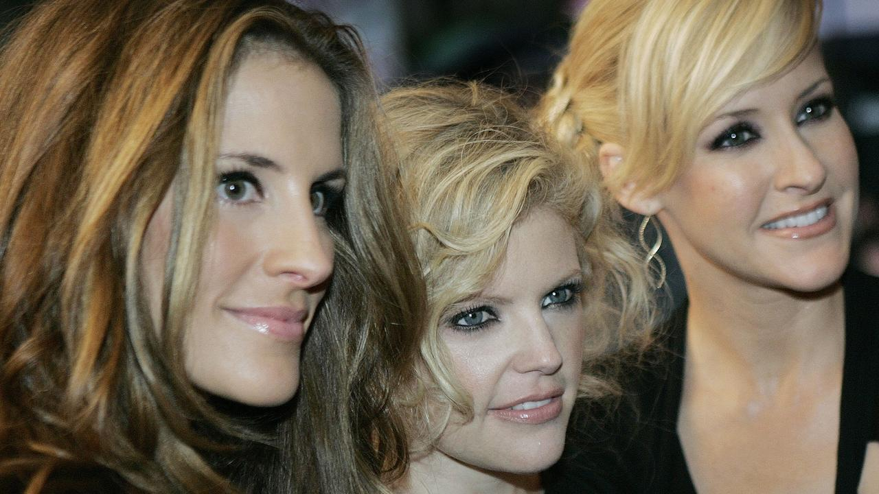 The Chicks: Emily Strayer, Natalie Maines and Martie Maguire. Picture: Supplied
