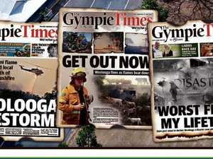 PHOTOS: 71 powerful Gympie Times front pages over 152 years