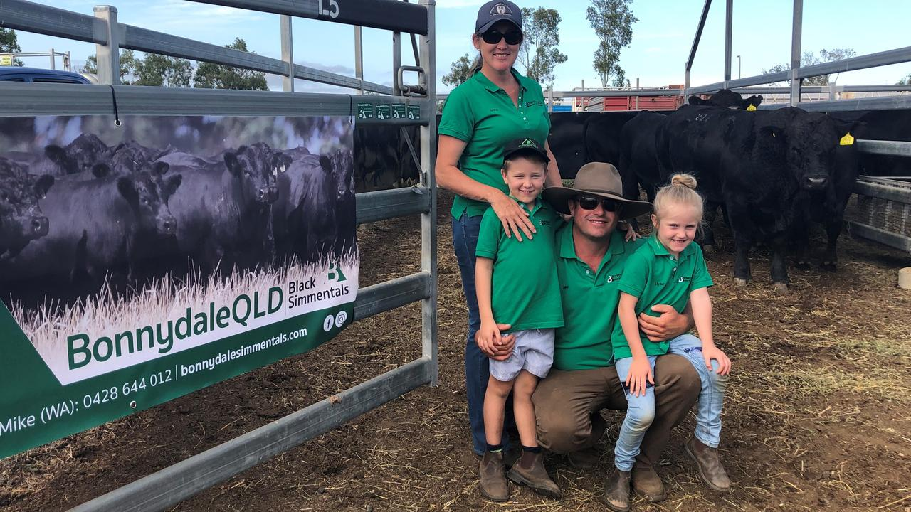Emma Patterson and Jake Berghofer of Bonnydale QLD Black Simmentals are competing in the Multimin Performance Ready Challenge. (Photo: Contributed)