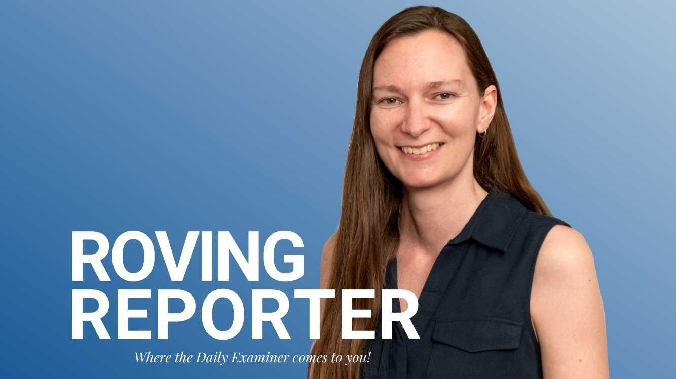 Digital producer Jenna Thompson is this week's Roving Reporter