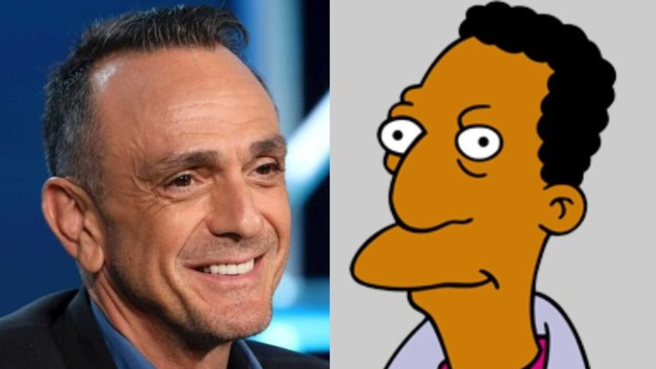 The Simpsons has copped criticism for years for having Hank Azaria (pictured) play the role of Indian character Apu. He also voiced Carl Carlson, pictured.