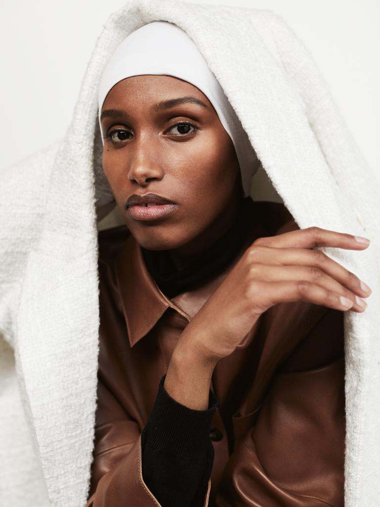 """I never imagined that a woman who wears a hijab would – or could – be used as a model."" (Picture: Daniel Nadel for Stellar)"