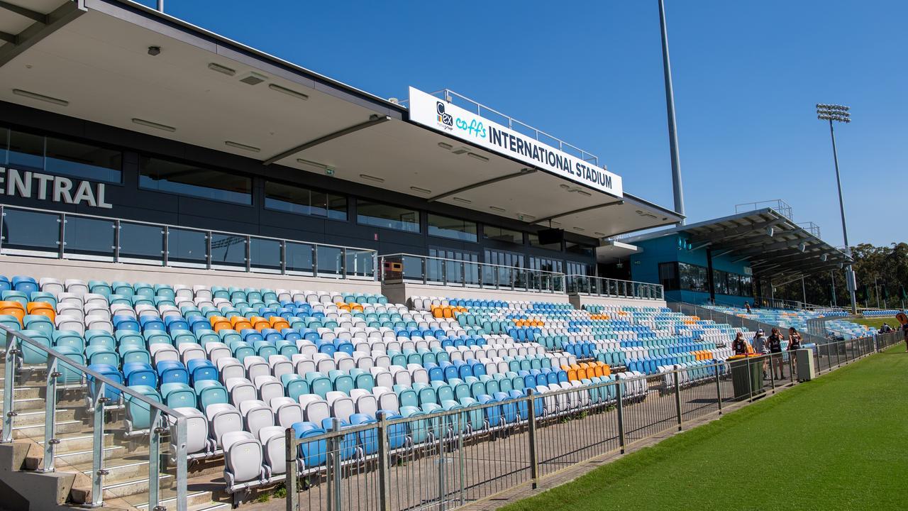 The stadium recently underwent a major upgrade.