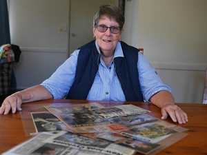 Proud mum kept clippings of daughters' stories