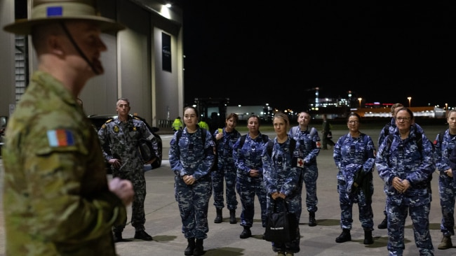 Australian Defence Force medical personnel are preparing to support the rapid testing blitz in Melbourne. Picture: AAP