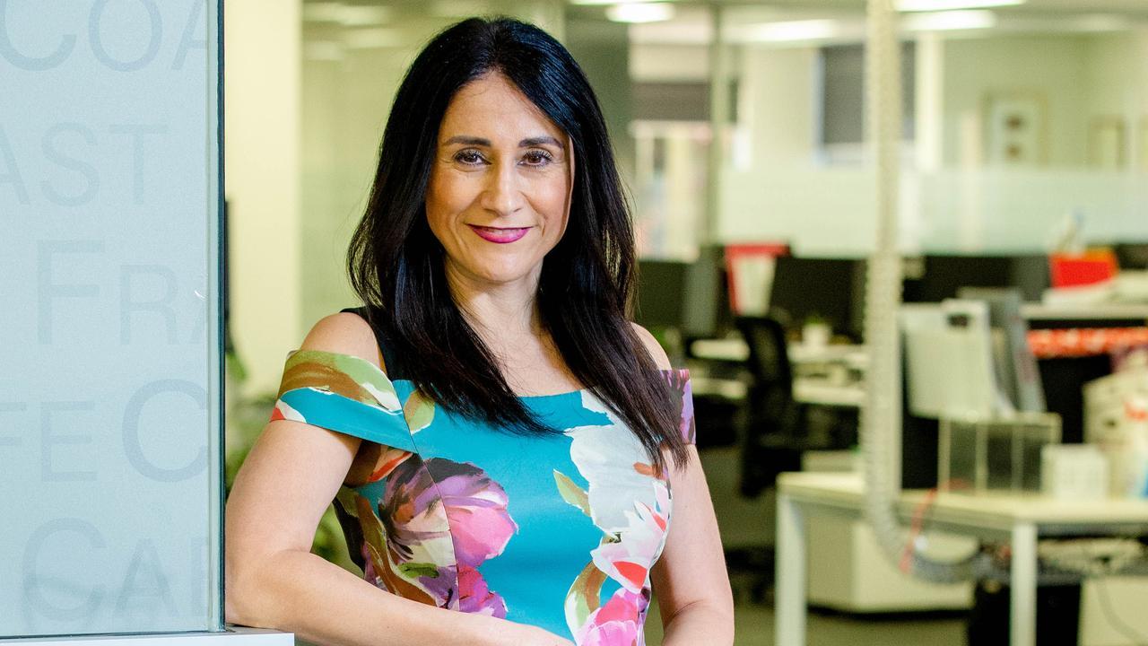 Real Estate Institute of Queensland CEO Antonia Mercorella. Picture: Richard Walker.