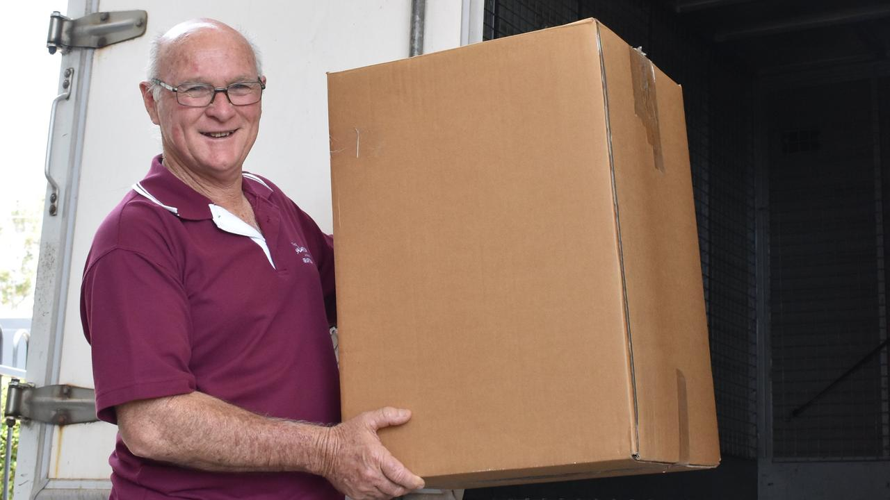 STILL DELIVERING: In 2019 Merv Smidt helped distribute gifts to bushfire victims for the Clarence Christmas Bushfire appeal as a volunteer for the Salvation Army.
