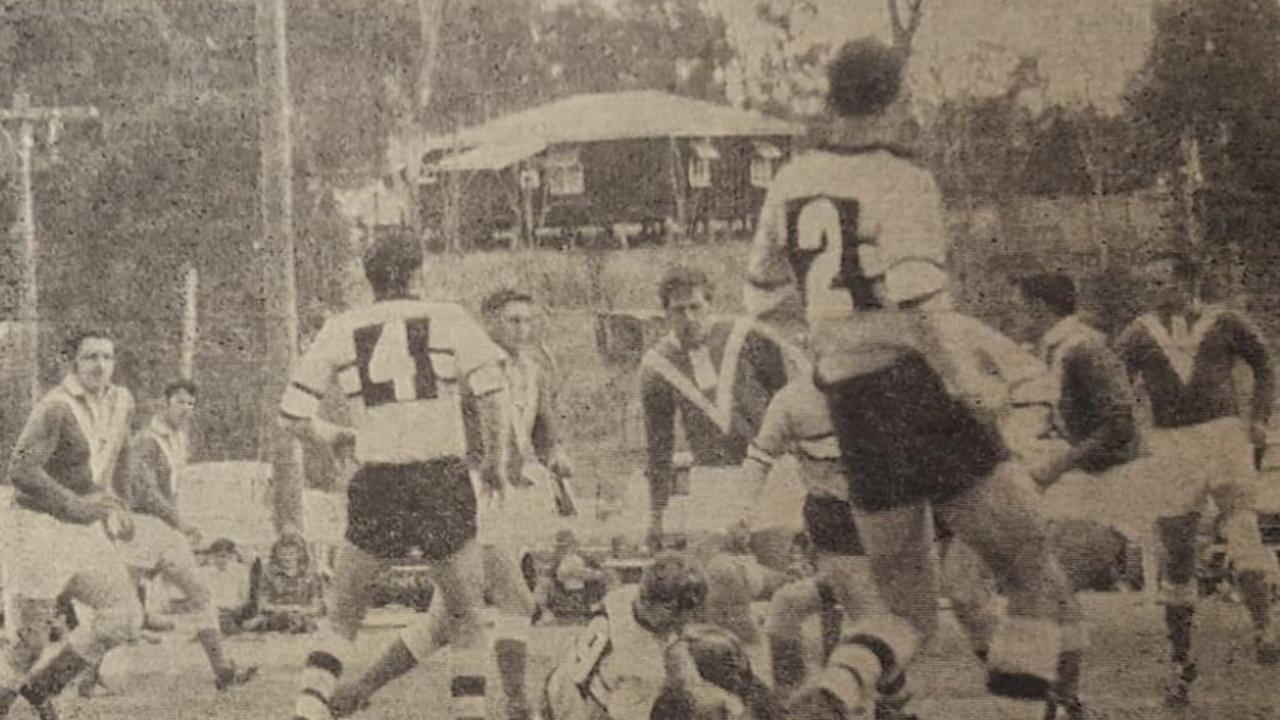 RUGBY LEAGUE: The touring Great Britain side outclassed South Burnett in their match in Wondai. (Picture: Contributed)