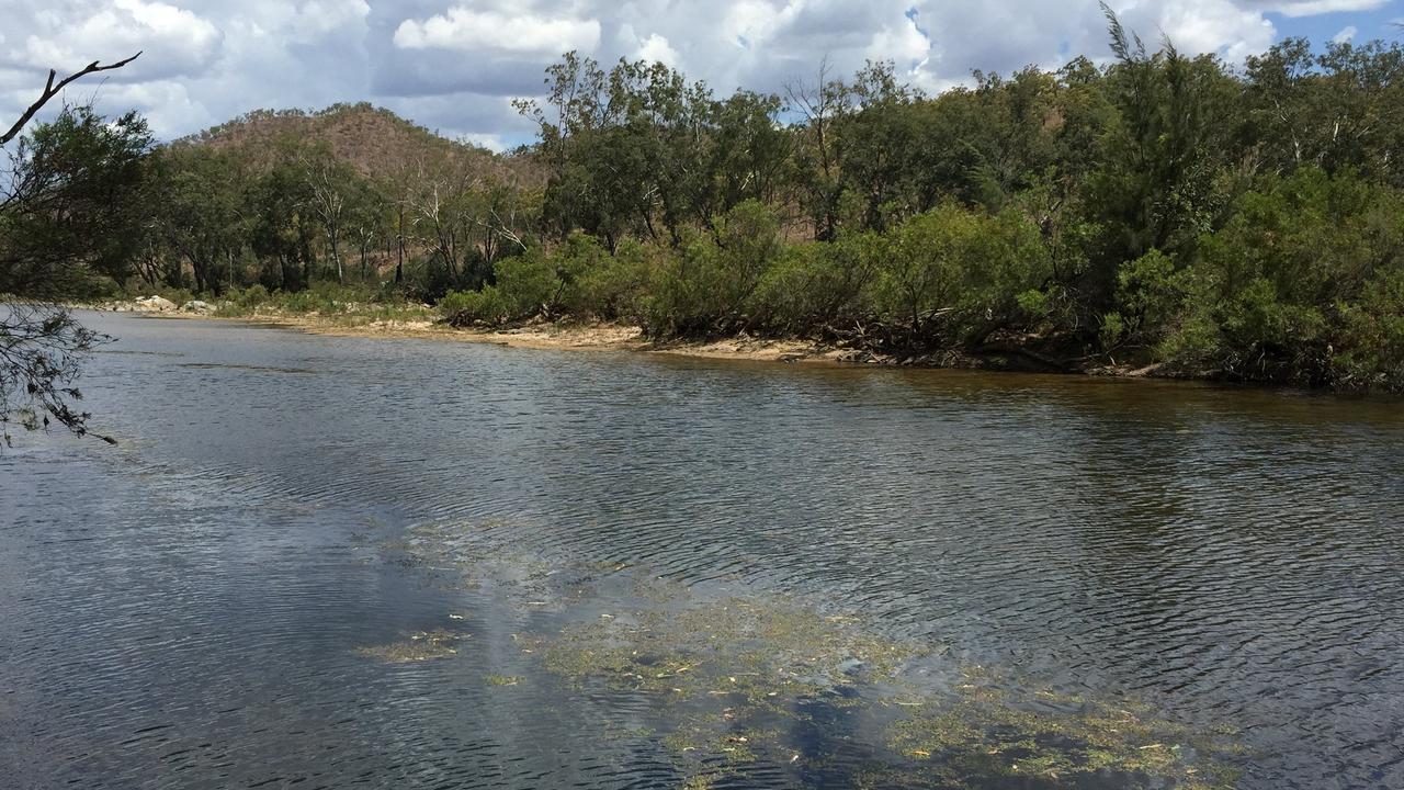 Urannah Creek, site of the Urannah Dam project, west of Mackay.