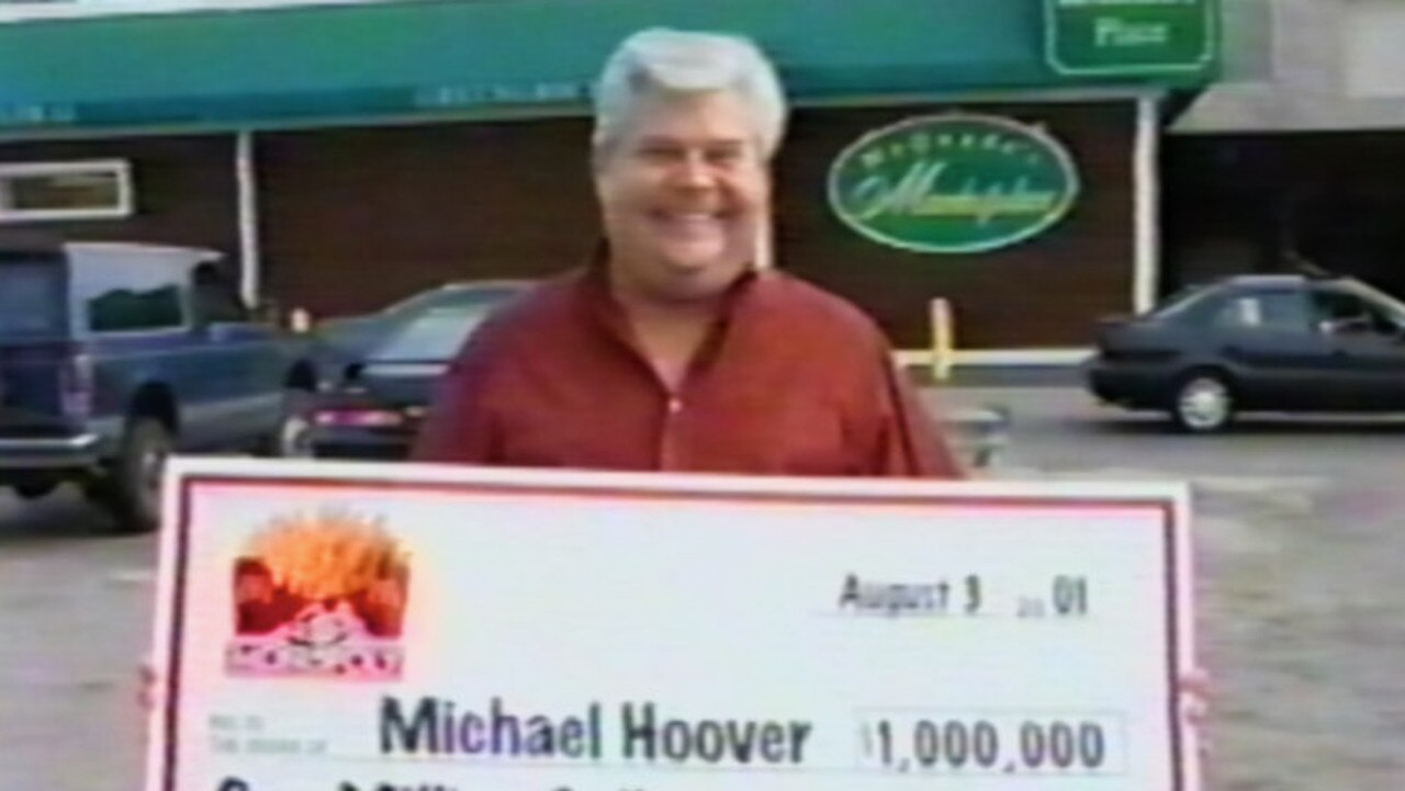 Michael Hoover's elaborate story about finding a $1m McDonald's Monopoly game ticket was caught on film. But the scam soon came undone.