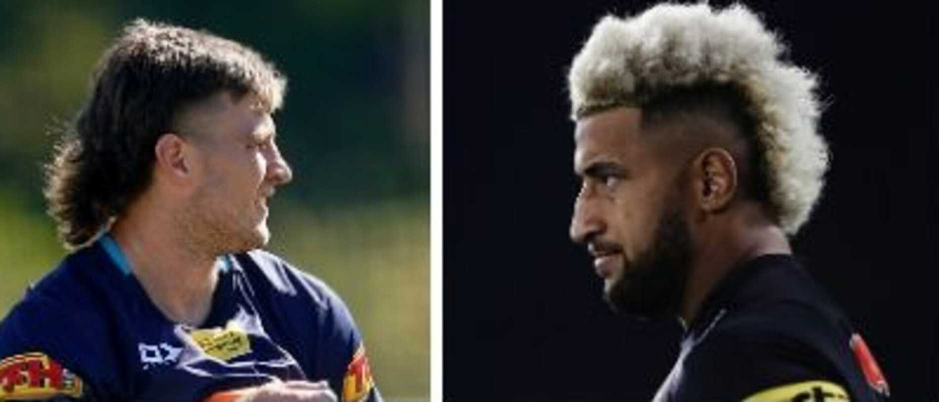 From fades of glory to full Tiger King mullets and far too much bleach, it's been hard not to get distracted by NRL player's hairstyles post-lockdown.