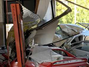 Driver loses control, destroying businesses and livelihoods