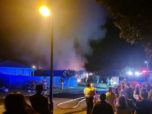 House gutted by fire but firies contain blaze