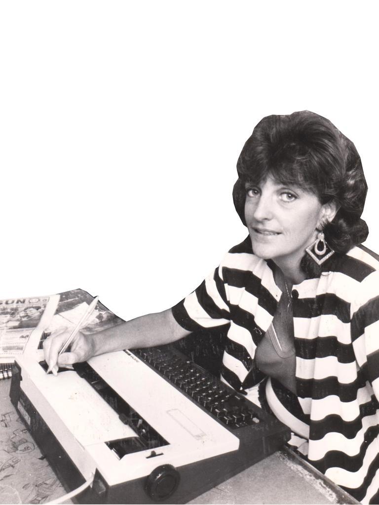 Former Chronicle editor Nancy Bates.