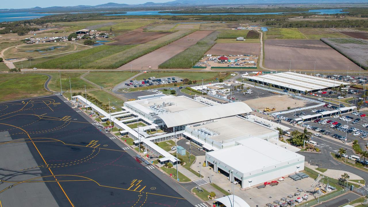 Airservices Australia commissioned testing at areas in and around Mackay Airport, including Shellgrit Creek.