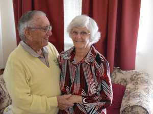 Basil and Doreen Coker celebrated their 60th wedding