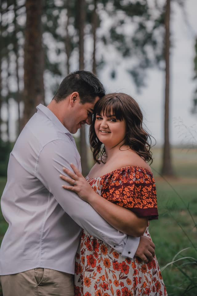 Georgia Weimers says her wedding will wait a little while thanks to Covid-19.