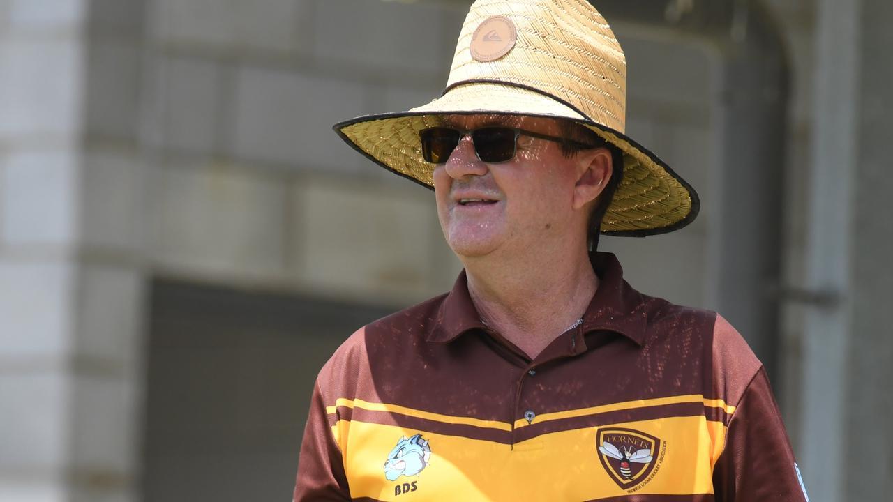 Ipswich/Logan Hornets coach Wayne Bichel. Picture: Rob Williams