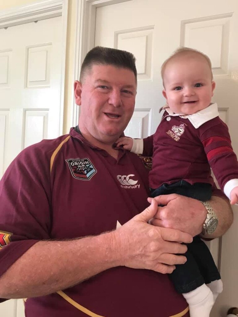 Dedicated Tigers and Ipswich softball supporter Wayne Gaddes is also a proud Queenslander.