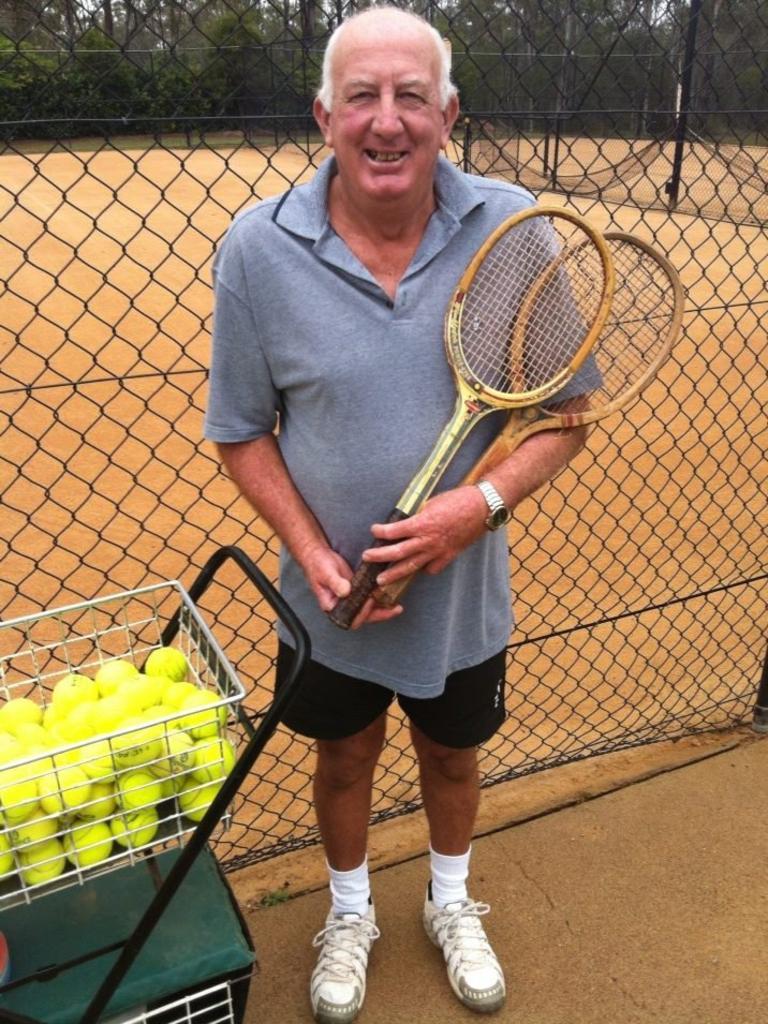 "Tennis ""jack of all trades'' Stuart Ware."