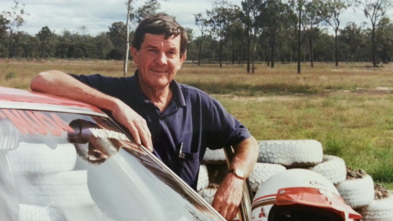 Ipswich motorsport icon Errol Bognuda.