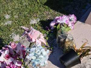 'Absolutely disgusting': Vandals wreak havoc at cemetery