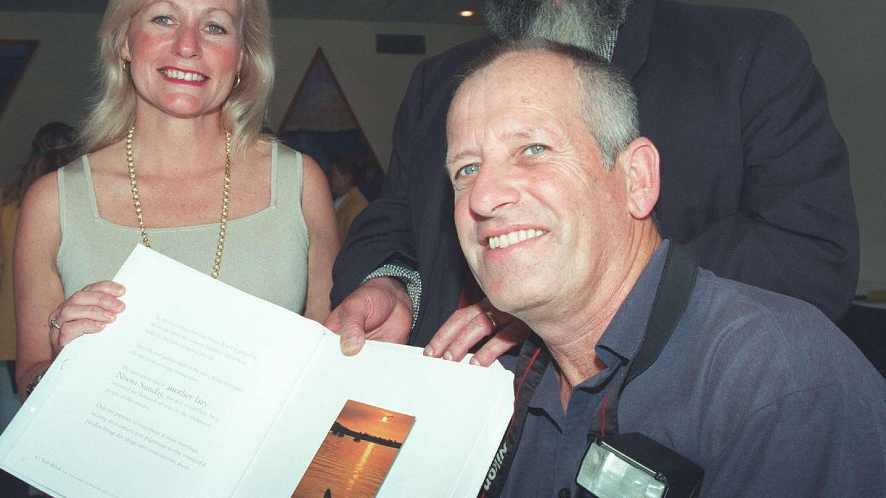 TRIBUTES FLOW: Former Noosa News and Daily photographer Geoff Potter, right, passed away on the weekend.