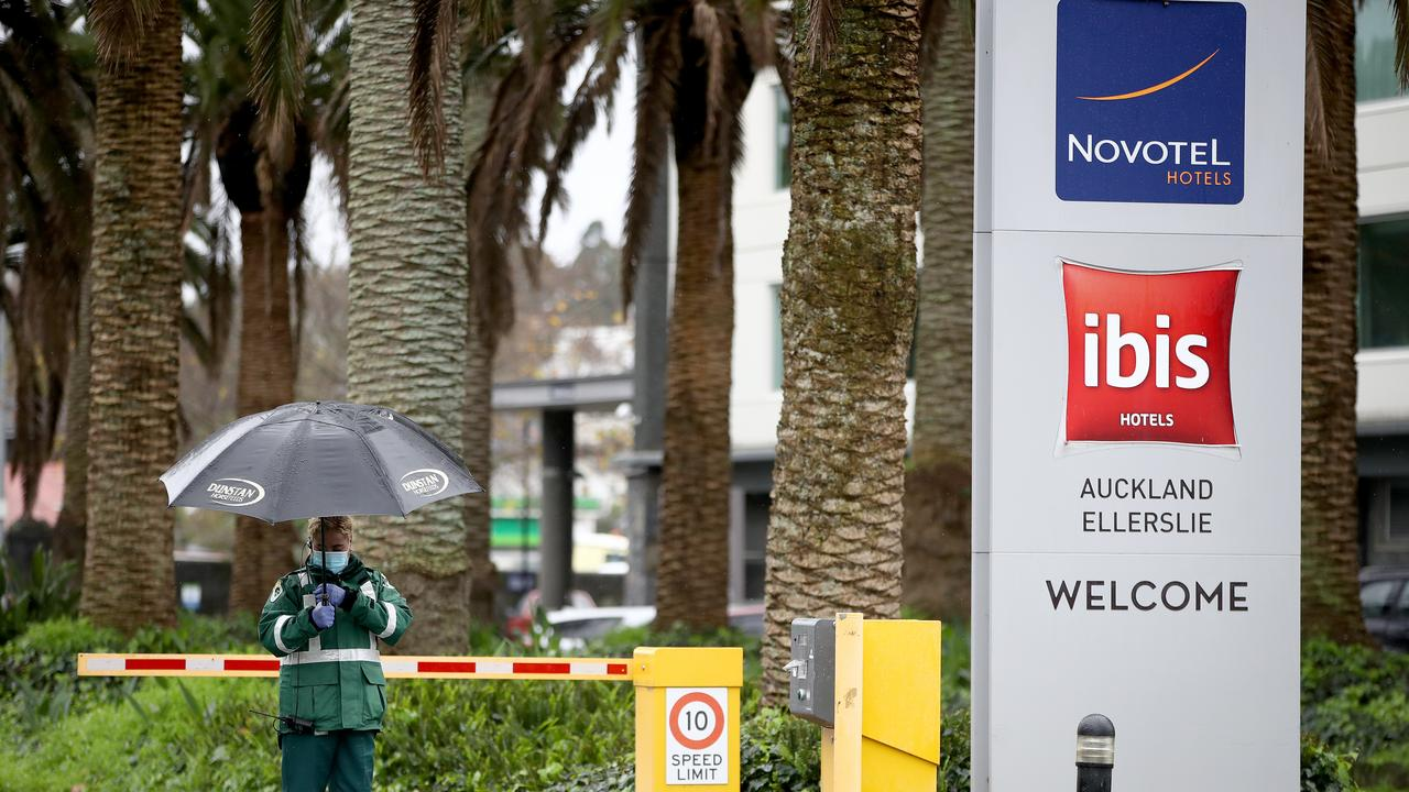 The visitors were staying at this Auckland Novotel when they were allowed to travel across the country with coronavirus. Picture: Phil Walter/Getty Images.
