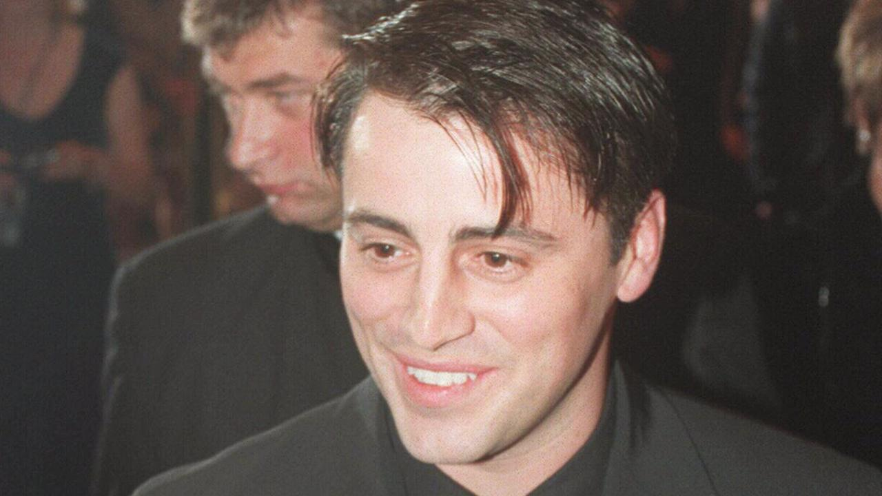 Friends star Matt LeBlanc at the 1998 Logies.