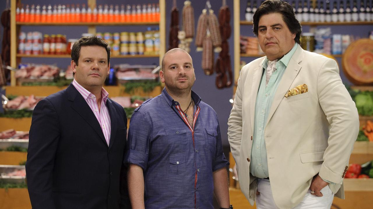 Gary Mehigan, George Calombaris and Matt Preston in 2010.