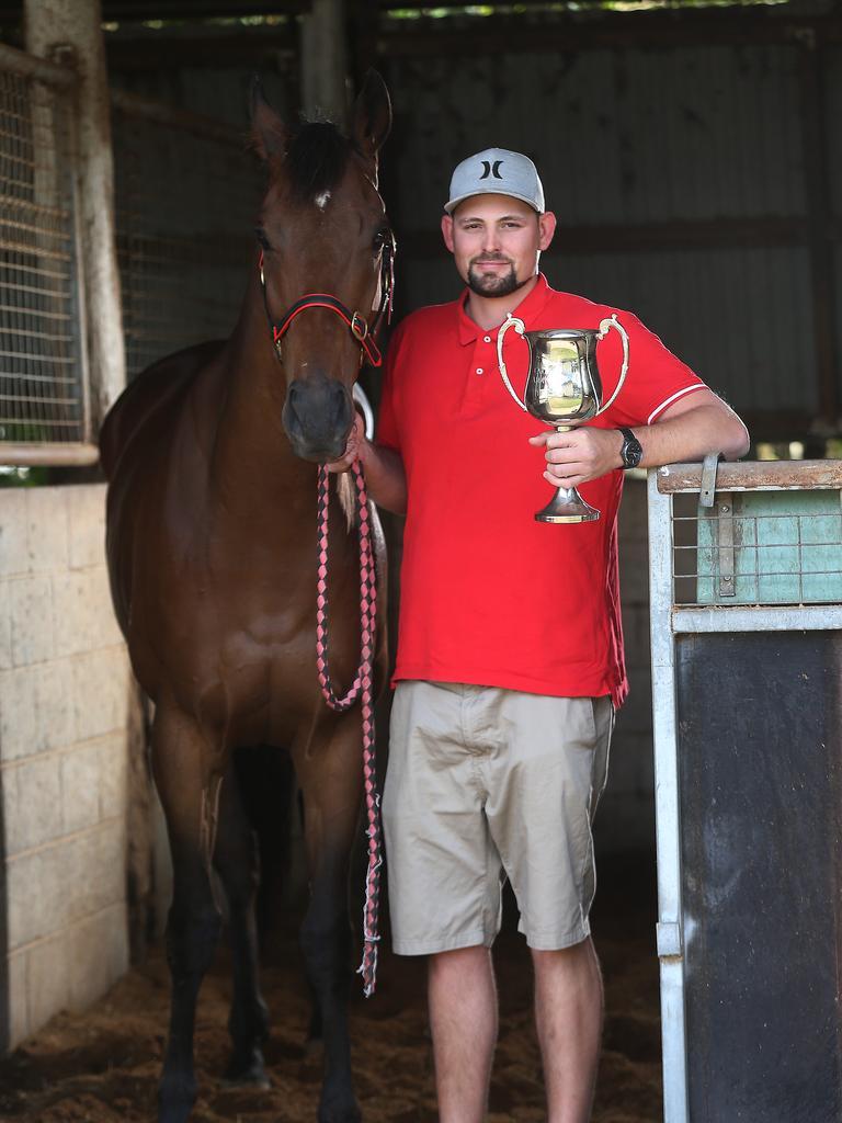 Rockhampton trainer Jared Wehlow . PICTURE: STEWART MCLEAN