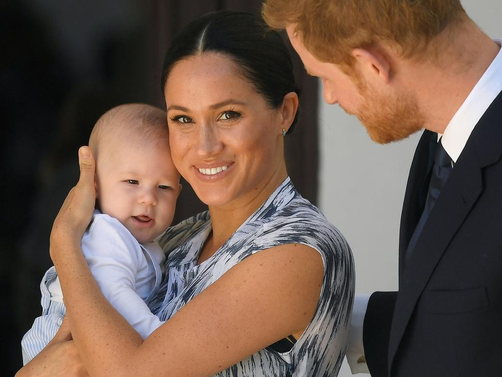 The couple wanted their son, Archie, to grow up without the spotlight of the British media on him. Picture: Getty Images