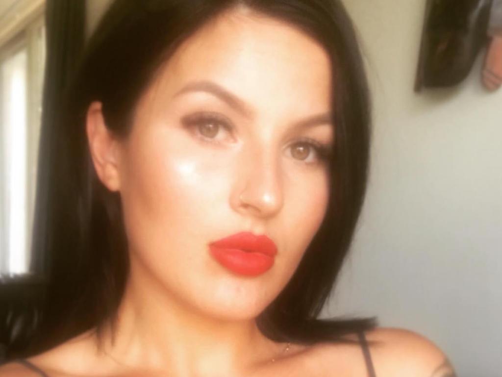 A Facebook image of Moriah Rose Kingston