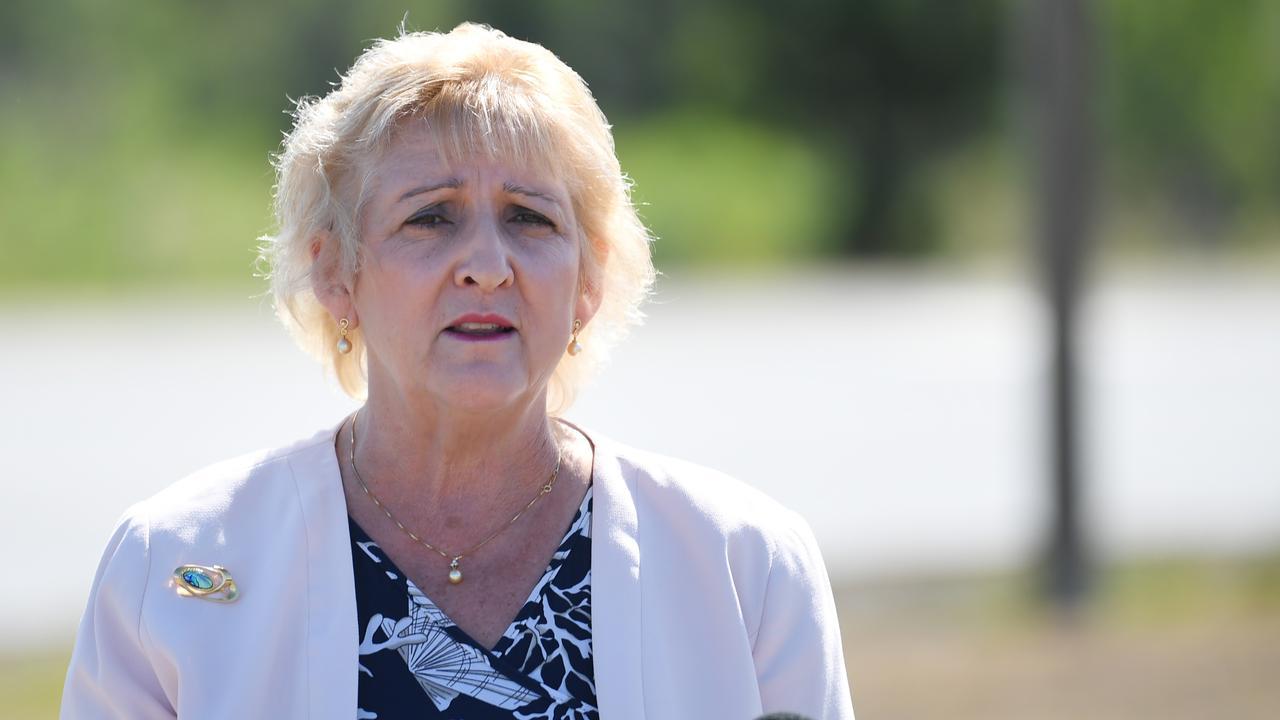 Capricornia MP Michelle Landry has thrown her support behind a stadium development at Rockhampton's Victoria Park.