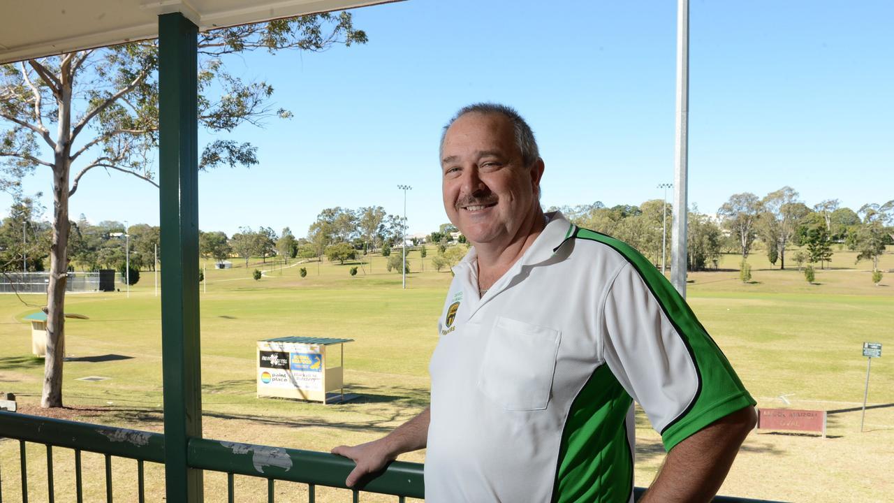Ipswich and West Moreton Cricket Association life member Darryl O'Sullivan. Picture: Sarah Harvey