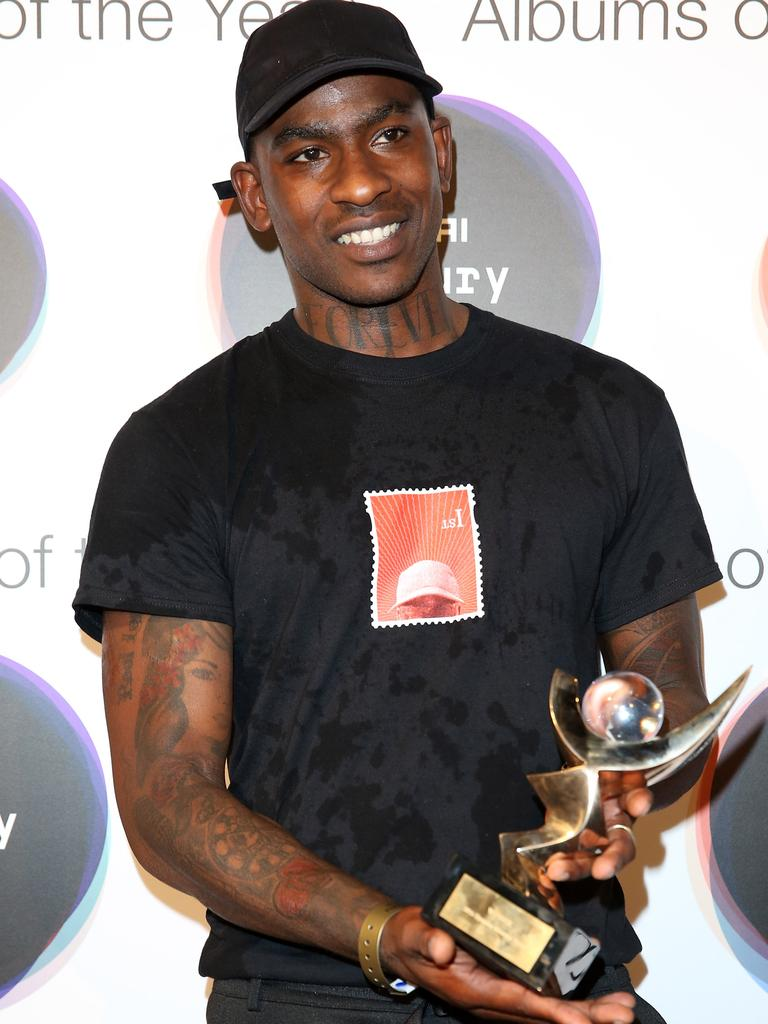 British rapper Skepta has been flirty on Insta. Picture: Getty